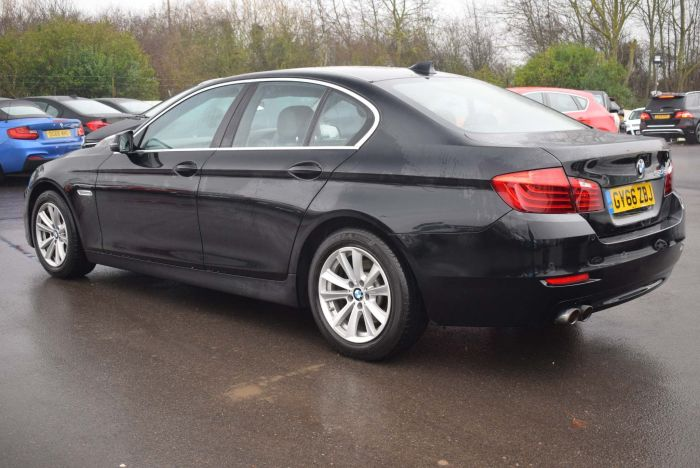 BMW 5 Series 2.0 520d SE 4dr Auto Saloon Diesel Black