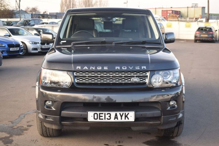 Land Rover Range Rover Sport 3.0 SD V6 HSE Black Edition 4X4 (s/s) 5dr Auto SUV Diesel Grey