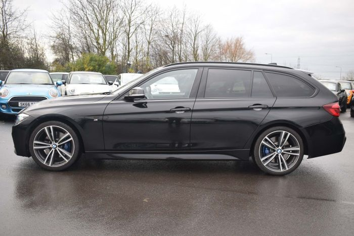 BMW 3 Series 2.0 320d M Sport Shadow Edition Touring Auto (s/s) 5dr Estate Diesel Black