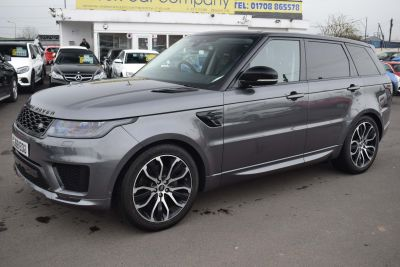 Land Rover Range Rover Sport 3.0 SD V6 Autobiography Dynamic Auto 4WD (s/s) 5dr SUV Diesel GreyLand Rover Range Rover Sport 3.0 SD V6 Autobiography Dynamic Auto 4WD (s/s) 5dr SUV Diesel Grey at Motor Finance 4u Tunbridge Wells