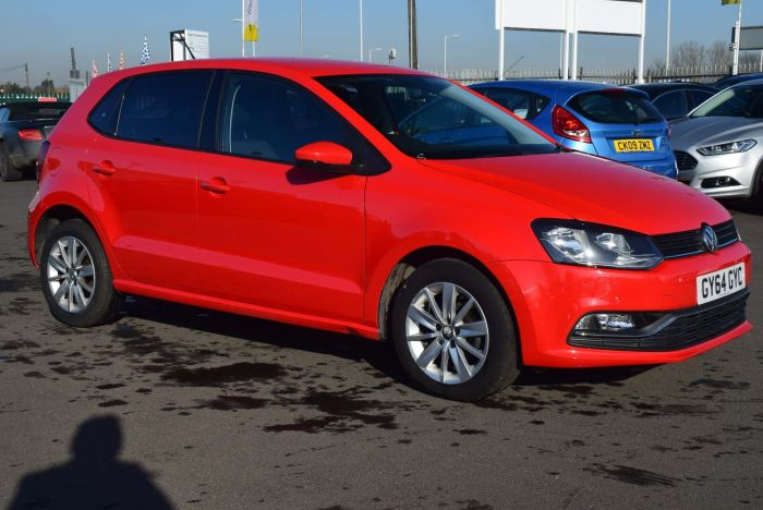 Volkswagen Polo 1.2 TSI BlueMotion Tech SE DSG (s/s) 5dr Auto Hatchback Petrol Red