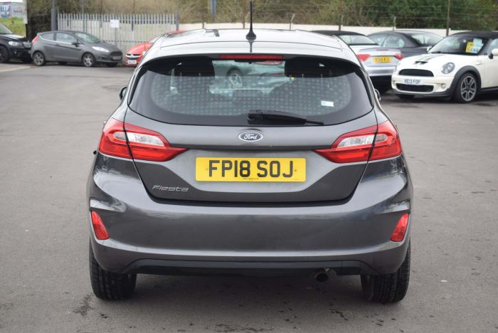Ford Fiesta 1.0T EcoBoost Zetec Auto (s/s) 5dr Hatchback Petrol Grey