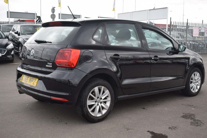 Volkswagen Polo 1.2 TSI BlueMotion Tech SE (s/s) 5dr Hatchback Petrol Black