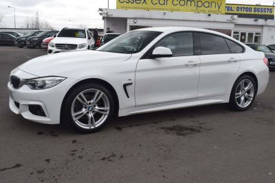 BMW 4 Series 2.0 420d M Sport Gran Coupe (s/s) 5dr Coupe Diesel WhiteBMW 4 Series 2.0 420d M Sport Gran Coupe (s/s) 5dr Coupe Diesel White at Motor Finance 4u Tunbridge Wells