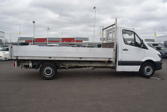Mercedes-benz Sprinter 2.1 CDI 314 Dropside Truck 2dr (EU6, LWB) Chassis Cab Diesel White