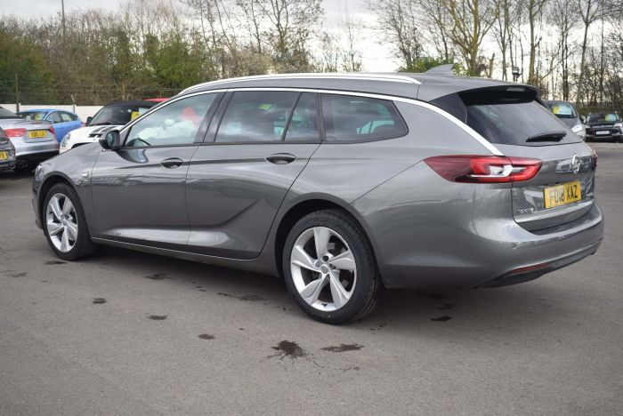 Vauxhall Insignia 2.0 Turbo D BlueInjection SRi Nav Sports Tourer Auto (s/s) 5dr Estate Diesel Grey