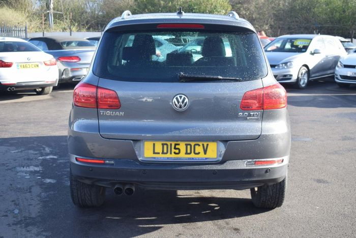 Volkswagen Tiguan 2.0 TDI BlueMotion Tech Match DSG 4MOTION (s/s) 5dr Auto SUV Diesel Grey