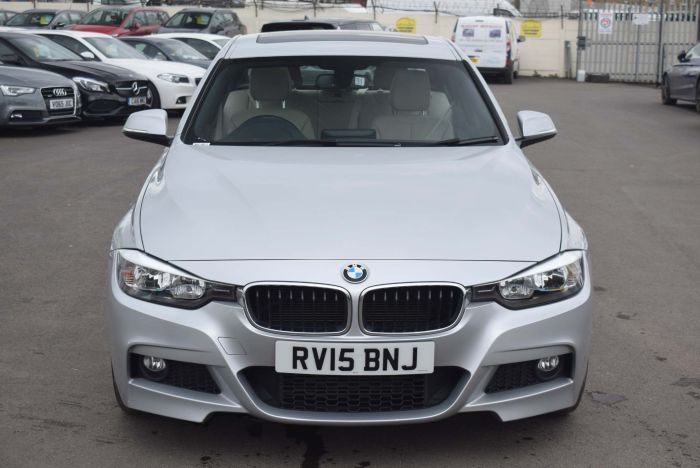 BMW 3 Series 2.0 320d M Sport xDrive (s/s) 4dr Auto Saloon Diesel Silver
