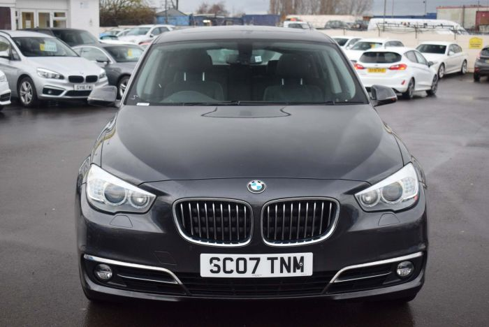 BMW 5 Series 2.0 520d Luxury GT 5dr Auto Hatchback Diesel Grey