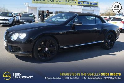 Bentley Continental 4.0 GTC V8 Auto 4WD 2dr (EU5) Convertible PetrolBentley Continental 4.0 GTC V8 Auto 4WD 2dr (EU5) Convertible Petrol at Motor Finance 4u Tunbridge Wells
