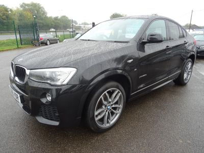 BMW X4 2.0 Xdrive20d M Sport auto Coupe Diesel BlackBMW X4 2.0 Xdrive20d M Sport auto Coupe Diesel Black at Motor Finance 4u Tunbridge Wells