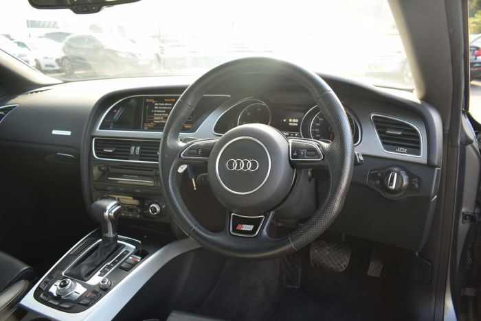 Audi A5 3.0 TDI S line S Tronic quattro 2dr Auto Coupe Diesel Grey