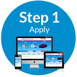 Step 1 Apply for car finance