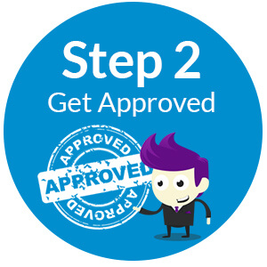 Step 2 Get your finance approved